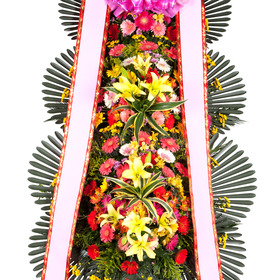 (30%할인) 풍성한꽃 축하3단화환