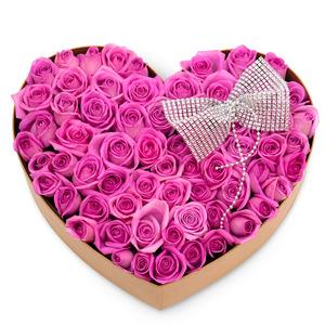 핑크꽃박스