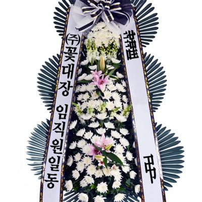 [추천상품]근조3단화환